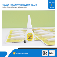 Glue stick 502 cyanoacrylate adhesive liquid mucilage glue 12PCS/CARD