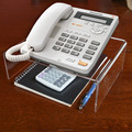 Custom acrylic clear telephone stand phone stand