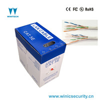 4pair utp twisted pair cat5e network cable