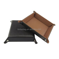 Popular Customized Top Quality Hot Selling New Design leather tray