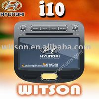 WITSON HYUNDAI i10 7 Inch Double Din Car DVD With GPS