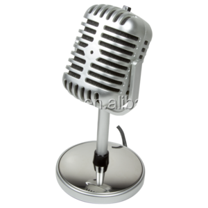 Vintage Style Microphone