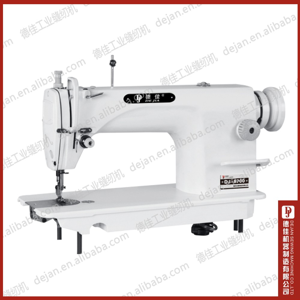 portable bag closer making machine DJ 8700 High Speed Single Needle dress SEWING MACHINE