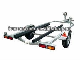 inflatable aluminum boat trailer