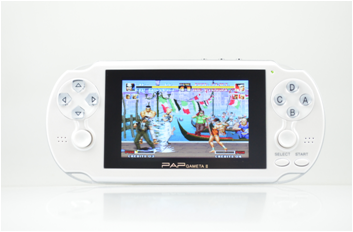 Digital 64 bit 4.1 inch portable pocket handheld game player console with 2.0MP camera