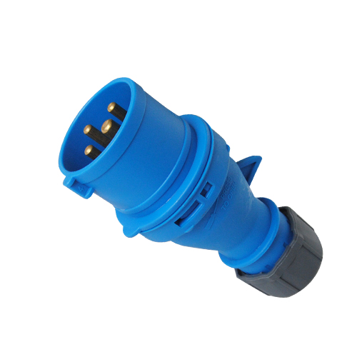 Industrial Plug and Socket 3P, 16A, 32A, 200-250V,Waterproof IP44