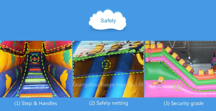 2016 Hot sale inflatable bouncy castle city