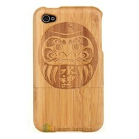 Kanger high quality smart phone bamboo wood case for Samsung and Iphone all models