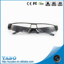 high quality 720p glass with camera wearable hidden camera