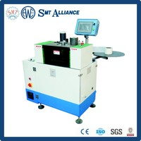 Stator slot bottom paper feeding edge folding and forming inserting machine