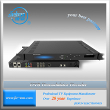 DVB-S2 IP Demodulator convert satellite signal to IP