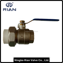 PP-R Union Brass Male Ball Valve
