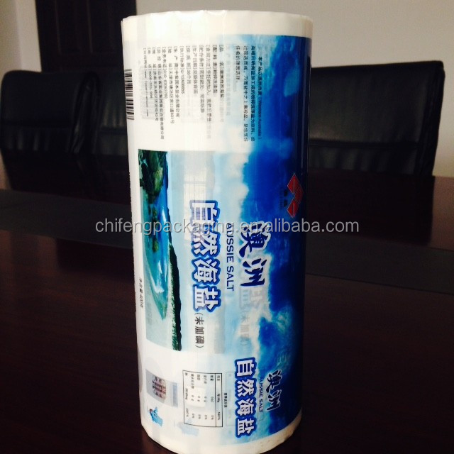 packaging manufacturer flexible packaging manufacturers composited film LLDPE film virgin material printed slot hang hole china
