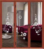 Wholesale China Cheap Aluminum Large Patio Sliding Glass Door