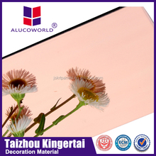 4mm Alucoworld best quality modern exterior lightweight external wall cladding aluminium composite panel building materials