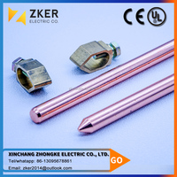 Copper Earth Rod And Earth Rod