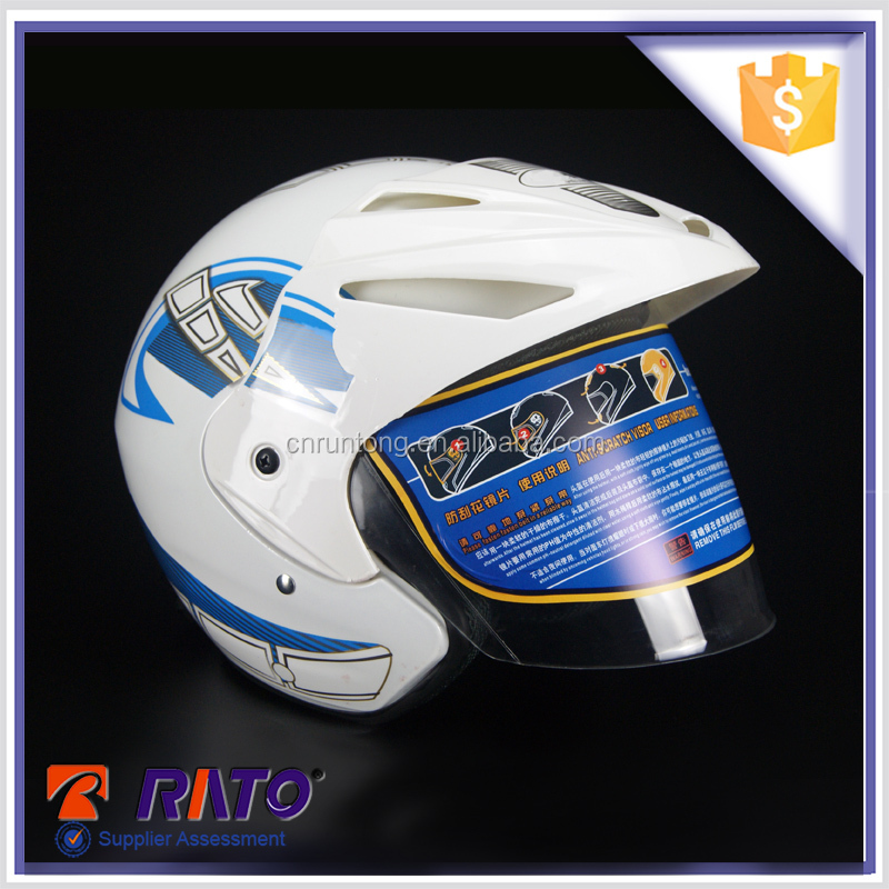 Top quality new design casco motorcycle half face helmet