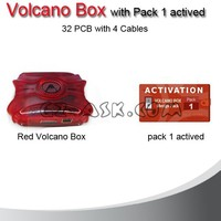 Mobile Phone Unlocker Tools Volcano BOX for Huawei Full Set with Pack lactived 32 PCB with 4 cable