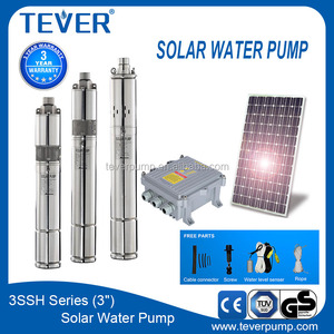 3 inch 24v Stainless steel screw pump solar deep well water pump