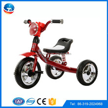 cheap children tricycle/blue suspension tricycle/baby tricycle with light