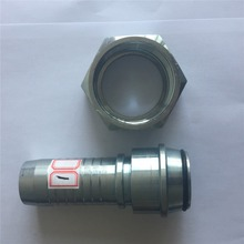 Hydraulic gardening hose fitting wash machine hose fitting