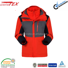 Women's brand wholesale trekking 3 in 1 jacket