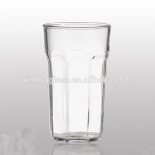 China OEM/ODM tall glass cups beverage glass juice cup