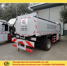 DFAC small 5000 liters fuel tanker truck china 4x2 mobile oil tanker for sale