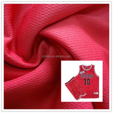 Good permeability polyester bird eye jersey fabric for linning of sports wear