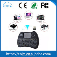 Best selling special mini Smart Control H9 gaming 2.4G air mouse and Keyboard Backlit with Touchpad