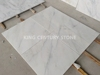 610x610mm statuary white polished natural stone white marble tiles