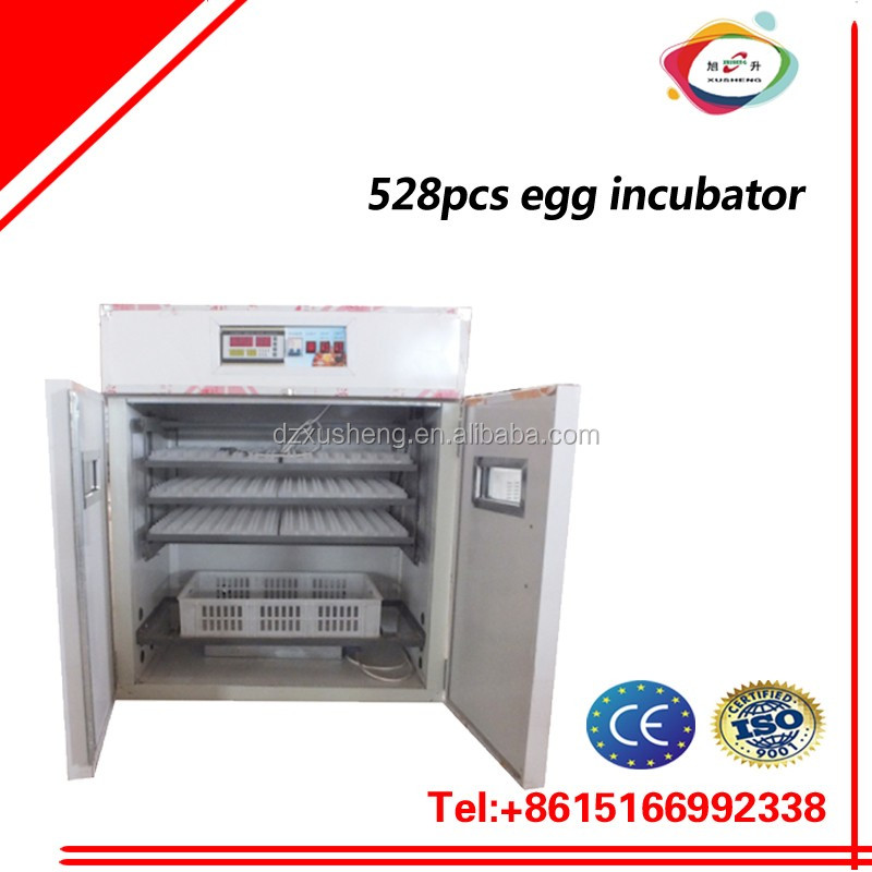 CE approved 110V/220V 528 Eggs Chicken Incubator For Sale/fish hatchery equipment