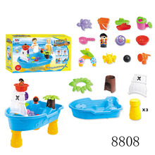 Summer toy for children Corsair Boat Sand Water Tool Sets Play Table Kids Beach Toys