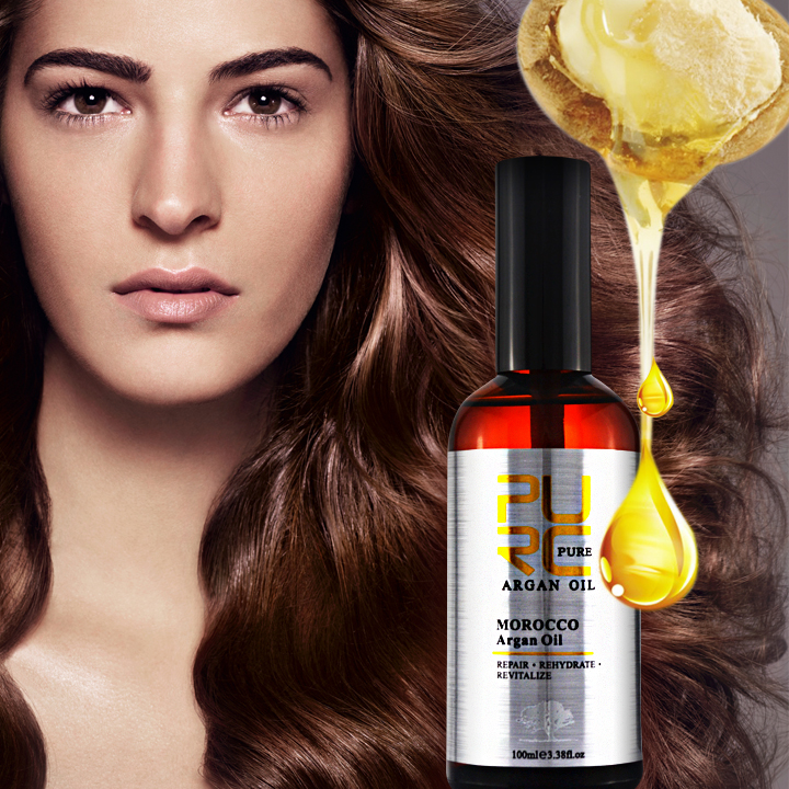 Argan oil wholesale and OEM provide label best hair care products and high quality