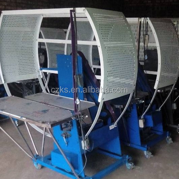 High speed baling machine for plastic and nylon rope packing machine
