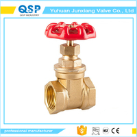 good market brass chain wheel gate valve
