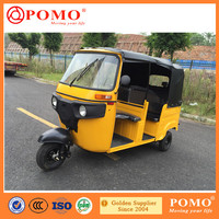 China Made High Quality Reliable India Bajaj Tuk Tuk for Sale Taxi Tricycle