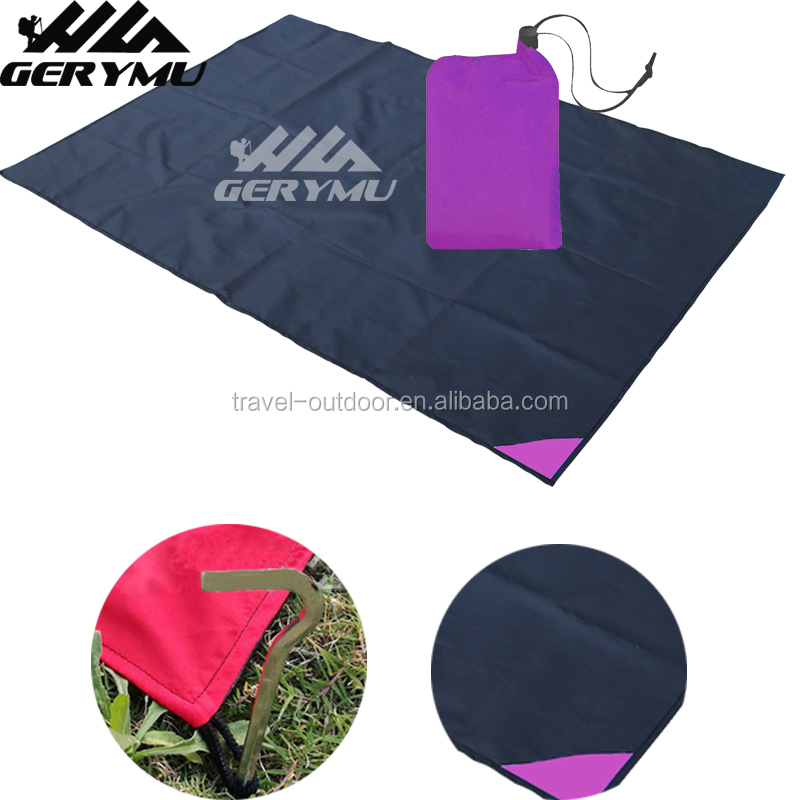 Outdoor Pocket Blanket 100*150 cm Camping Compact Waterproof Picnic Blanket Travel Durable Beach Mat