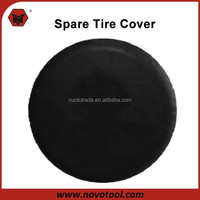 High Quality PVC Material Universal Custom Logo Tire Cover Spare Wheel Cover