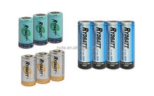 Lithium battery cell 14500 18500 18650 26650 32650 9V Li-ion Batteries