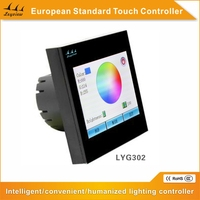 3 CH New European Standard RGB Touch Screen Controller for LED Lighting system