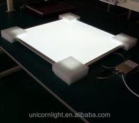 Unicorn lighting form Shenzhen china led panel 2835 leds 85-265V output votage 0.3*0.6 27W led panel light for office lighting