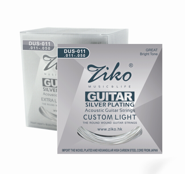 new individual vacuum package for guitar stings acoustic