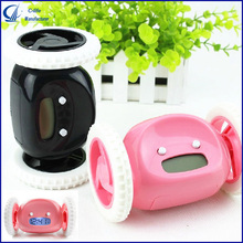 Funny Digital Running Alarm Clock Jump Clock Hide and Seek Running Clock