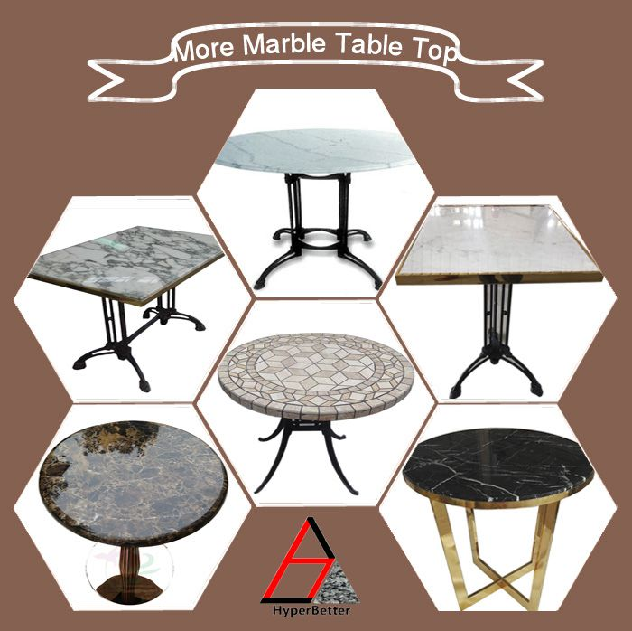 100cm white carrara marble top round dining table