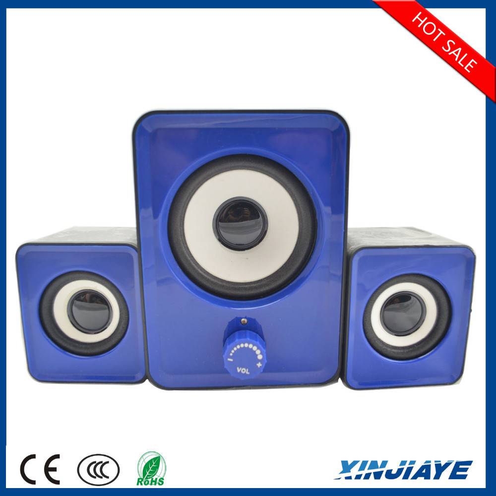 2.1 Universal Multimedia Audio Portable Speakers USB Computer Subwoofer Speaker For Laptop PC