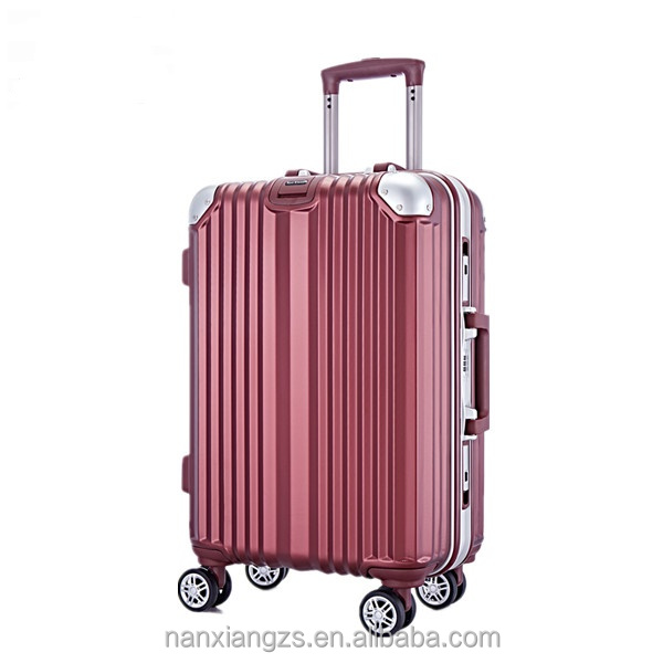 <strong>ABS</strong> & PC Hard Shell Aluminum Frame Trolley Luggage Sets For Travel