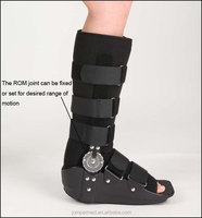 Orthopedic ROM Hinged Fracture Walker Brace Orthoses shoes brace/ safety shoes