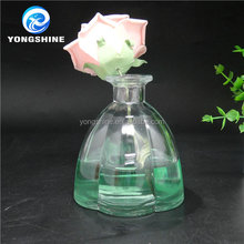 280ml elegant high clear home decorative glass bottle reed diffuser