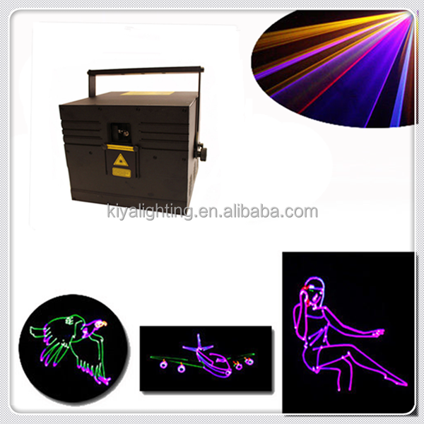 2w 3w 5w 10w High Power Outdoor Advertising Laser Projector Full Color Laser Projector